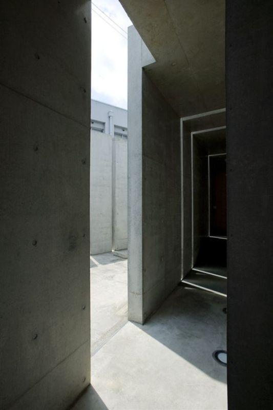 the slit house door