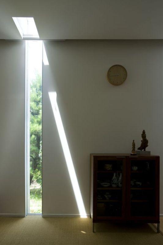 the slit house interior