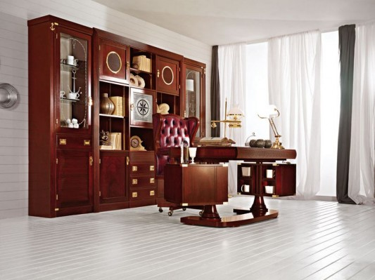 traditional office and study room furniture elegant and luxurious design