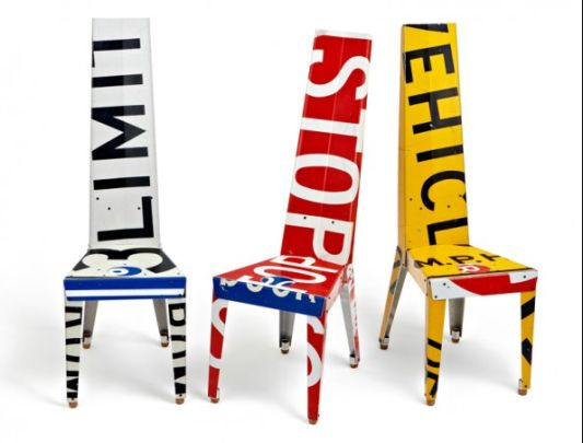 Creative Design Tables and Chairs Recycling, Transit Chair and Table ...