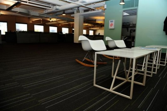 twitter new office design open workspace