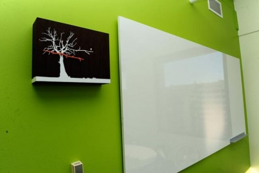 twitter new office design white board design