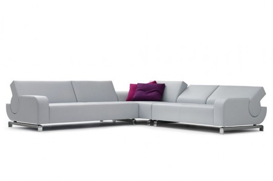 Madrid Taupe Beige Ultra Modern Living Room Furniture 3: Modern Comfortable Flat Sofas Design With Flexible