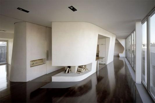 ultra modern loft interior design ideas