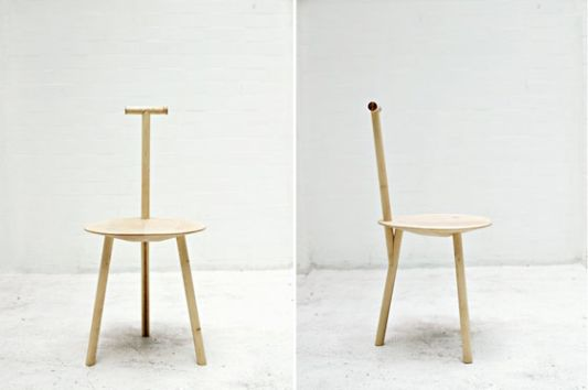 Superieur Unique And Simplicity Wooden Dining Chair Design