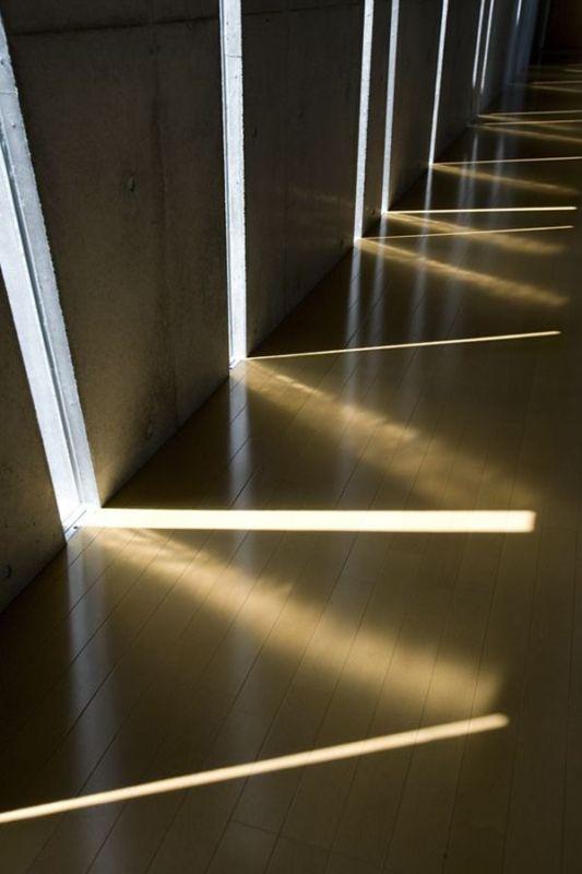 unique entering light from gap