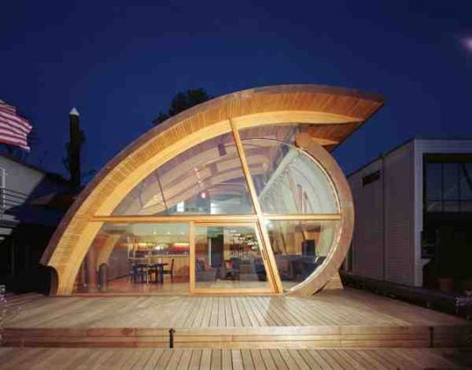Fennell Residence Floating House By Robert Harvey Oshatz Part 60