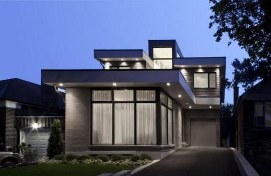 Urban Family Residence Exterior Design Plans