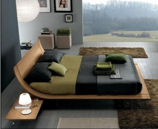 veneer beds design minimalist and cool design
