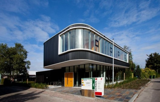 verkerk group contemporary office building exterior design