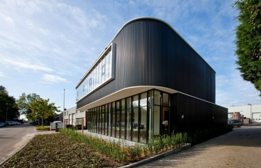 verkerk group contemporary office building modern exterior design