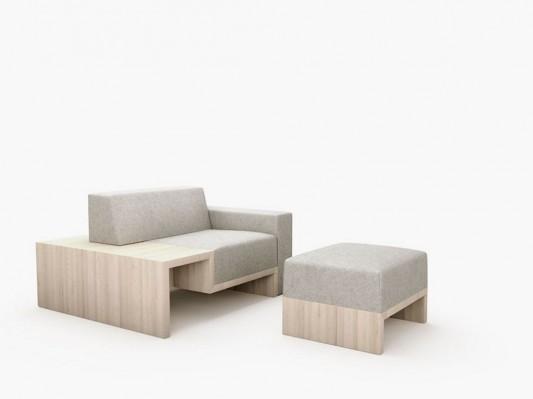 Wave kitchen furniture at salone del milano