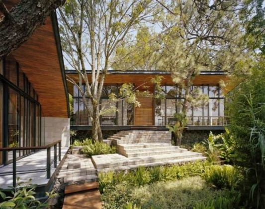 villa designs without destroying the natural