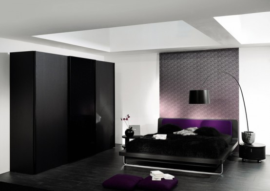 wall decoration on bedroom concept