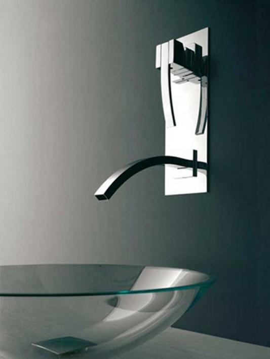 wall mounted beauty bathroom faucet