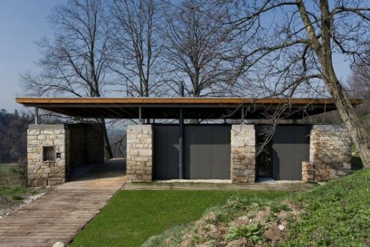 Re Build Warehouse To Contemporary House Studio In Kojet