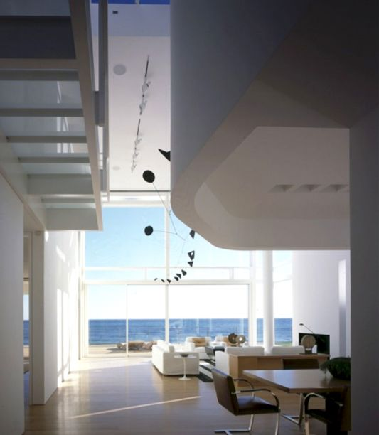 white beach house interior ideas