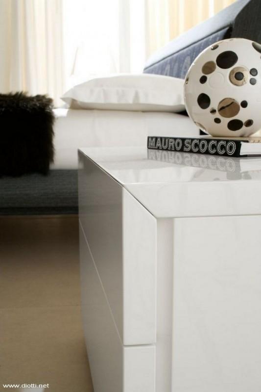 white gloss modern dressing table design
