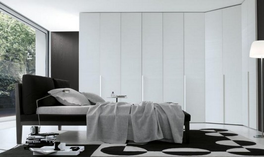 white lacquer walk-in wardrobes modern design ideas and inspiration