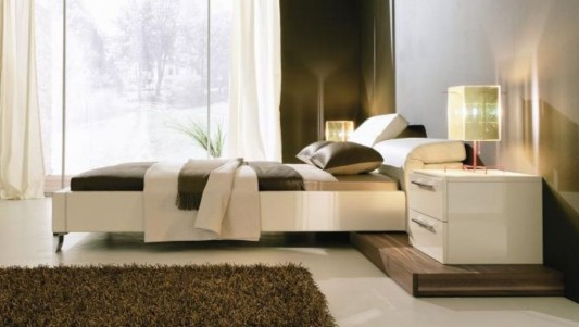 white leather beds ideas with adjustable headboard
