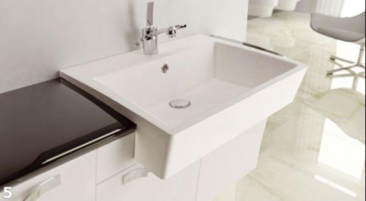 white washbasin luxury