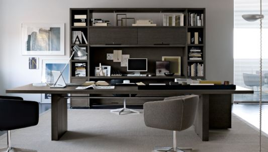 Gentil Wood Office Furnitur Sets. Executive Elegant Office Furniture Design. Executive  Office Furniture