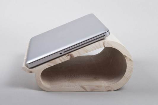 wooden laptop stand ideas